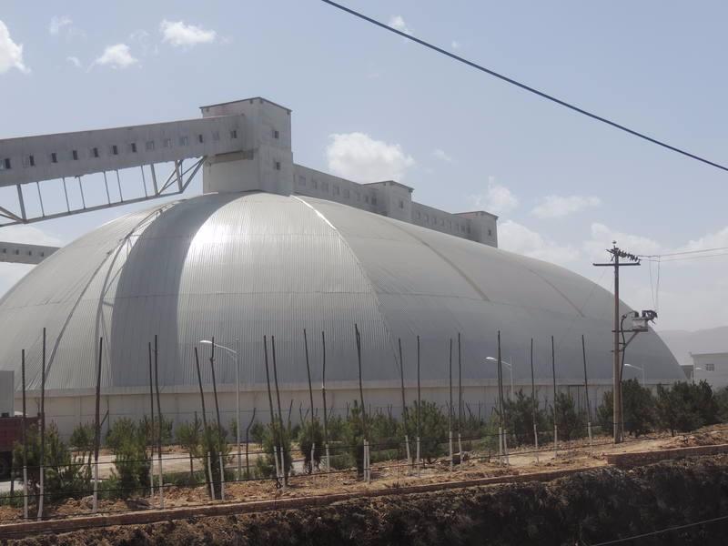 鄂尔多斯高新材料公司全封闭干煤棚